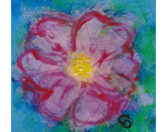 Little Bloom II - original painting