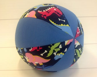 Balloon Ball Baby, Balloon Cover, Balloon Ball, Ball, Kids, Dinosaurs, Blue, Portable Ball, Travel Toy, Travel, Eumundi Kids, Eumundi