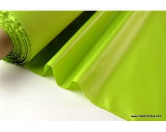 Polyester water repellent for umbrella x50cm lime fabric