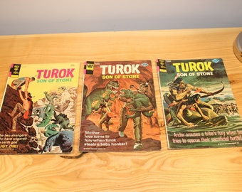 Vintage - Gold Key Comics - Torak Son of Stone