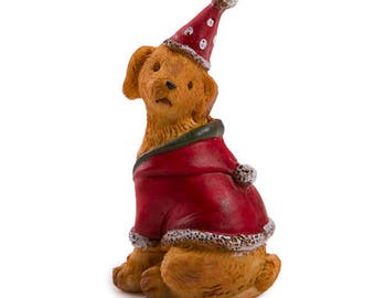 Miniscape Fairy Garden Dogs: Resin, 1 x 2 inches