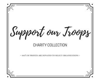 Support Our Troops: Charity Collection