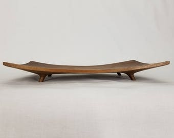 Walnut Display Dish
