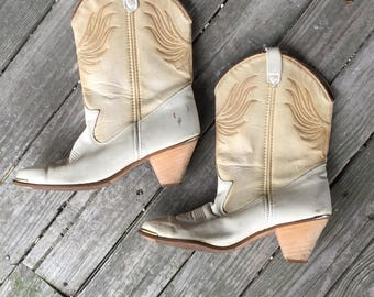71/2 Dingo boots 80s