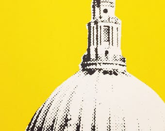 St Paul's Limited Edition Screen Print