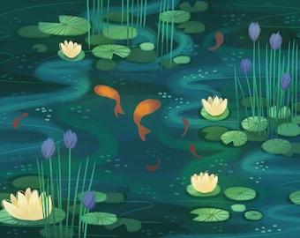 Quiet Pond Print