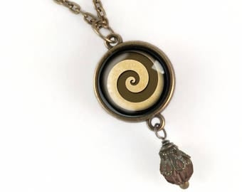 Steampunk Spiral Necklace