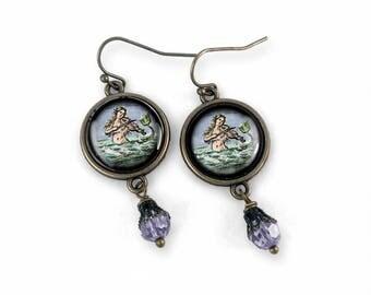 Ancient Mermaid Earrings