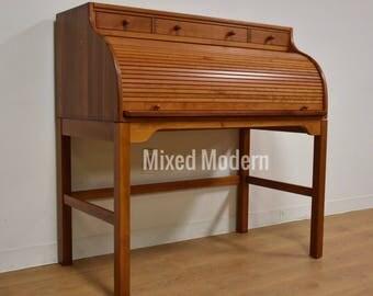 Andreas Hansen Danish Cherry Drum Roll Desk