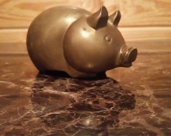 Vintage Pig Piggy Bank