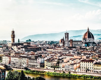 Florence Skyline - Florence Photography - Italy Photography - Florence - Italy - City Skyline -  Fine Art Photography