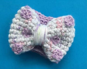 Unicorn Rock the Dots Bow Coffee Cozy