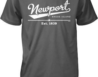 Newport, Rhode Island, Est. 1639 Men's T-shirt, NOFO_01226