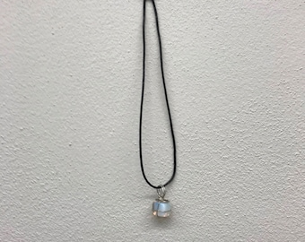 Oplite Wire Wrapped Pendent