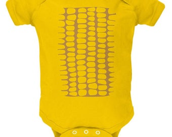Halloween Corn on the Cob Costume Soft Baby One Piece