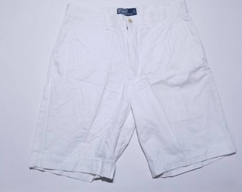 Polo by Ralph Lauren Vintage All White Chino Shorts