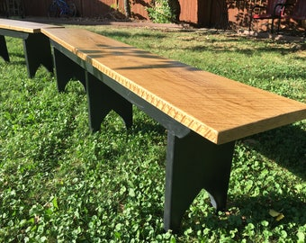 Rustic Farm Benches