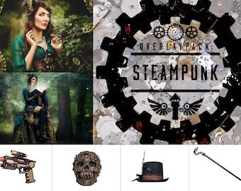 Steampunk - 100 Overlays
