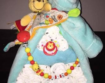 Diaper backpack Winnie