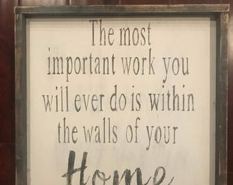 Home signs