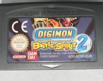 Digimon Battle Spirit 2 fan made reproduction English Translation RPG Gameboy Advance GBA