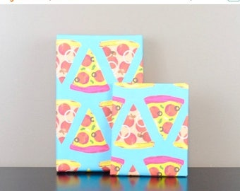 60% OFF Pizza Wrapping Paper, Roll of 2 Sheets   gift wrap   pizza lover   christmas gift   wrapping paper   wrapping tissue   birthday gift