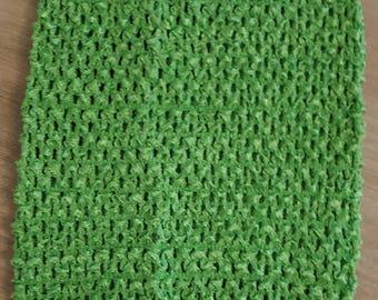 STRAPLESS stretch 2-6 years light green crochet for making dress TUTU 2-6 years
