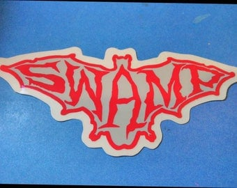 Conspiracy Skateboards Swamp Series Sticker Vintage Zorlac Decal