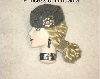 Princess Lithuania,Lady Face Pin