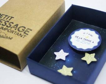Message - Moon box
