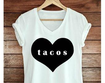Taco love heart