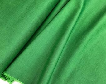 Emerald Green Peppered Cotton from Studio E Fabrics, Emerald Green Shot Cotton