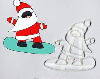 Santa Claus 10 Cookie Cutter