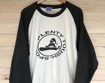 Rare! Vintage Plenty Tough Sport USA Sweatshirt Crewneck Jacket Size XL