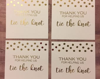 Bridesmaid Thank You Card // Will You Be My Bridesmaid // Note Card // Wedding Thank You