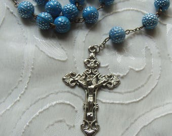 Vintage Rosary Beads/Crucifix (2893A)