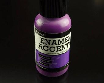 1 bottle Ranger enamel accents grape soda of purple (14 ml).5 fl oz