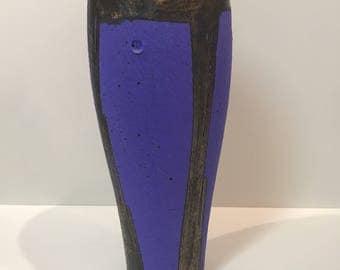 80s style studio pottery vase ***FREE SHIPPING***