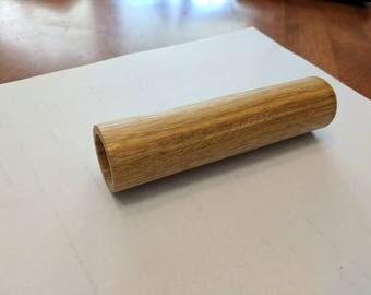 Wooden handle bar grips