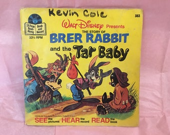 1977 Brer Rabbit and the Tar Baby Read-Along