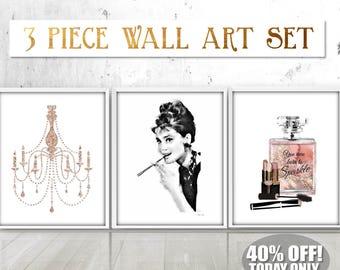 Audrey Hepburn Wall Art audrey hepburn art | etsy
