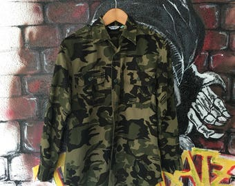 Army Camouflage Military Shirt
