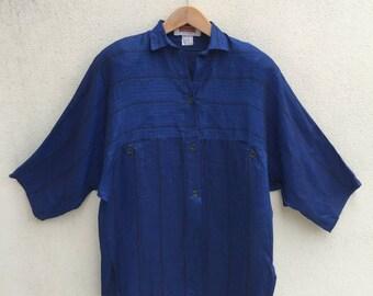 Vintage Max Mara Oversized Blouse Shirt