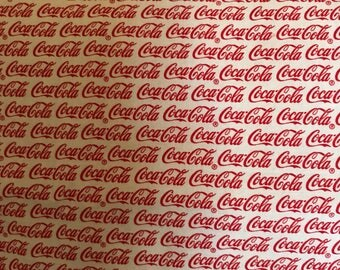 For The Coca- Cola Fan!!! This Cotton & Snuggle Flannel Blanket Is Perfect To Cuddle With!