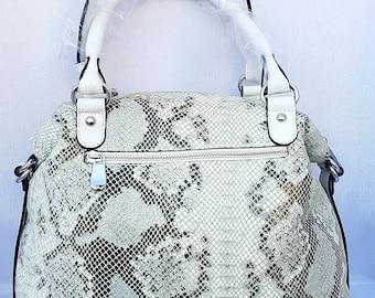 Promotion piton leather handbag
