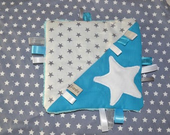 Blanket square 1 turquoise age