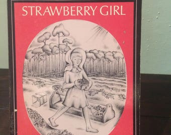 1976 Strawberry Girl by Lois Lenski Paperback Newbery Award Novel
