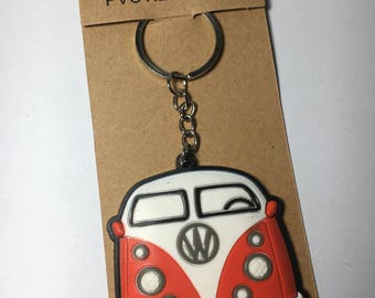 Love bug custom keychain , VW Old Beetle Keychain, Car Keychain