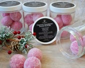 Frosted Cranberry Sugar Scrubs | Bath and Body Products | Spa Products | Sugar Scrubs