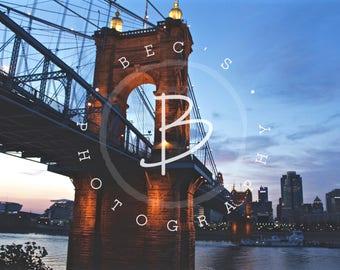 Roebling Bridge Cincinnati